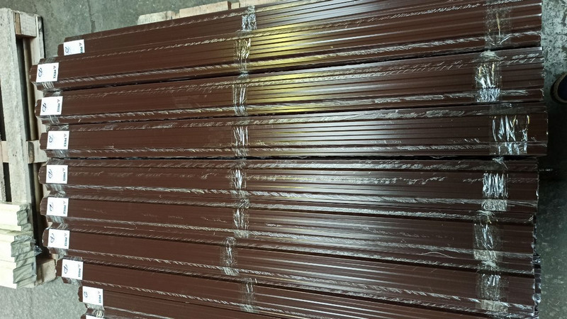 Производство и продажа штакетника металлического