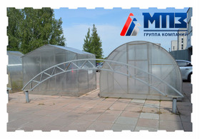 Теплица из поликарбоната от завода МПЗ Ульяновск